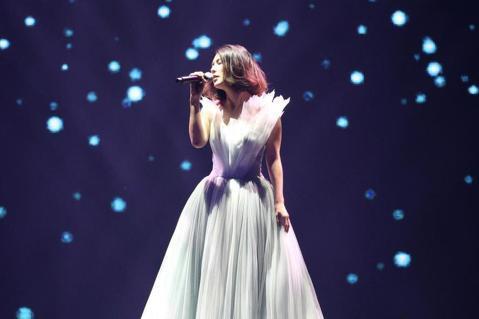 許茹芸「綻放的綻放的綻放」巡迴演唱會晚上在台北小巨蛋舉行。