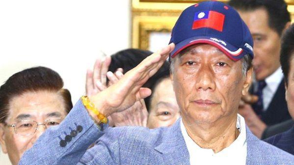富豪選總統,郭台銘未必要走川普的路。 報系資料照