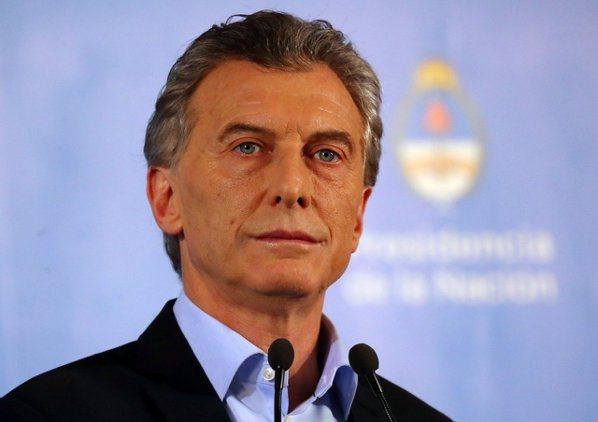阿根廷總統馬克里。 (路透)