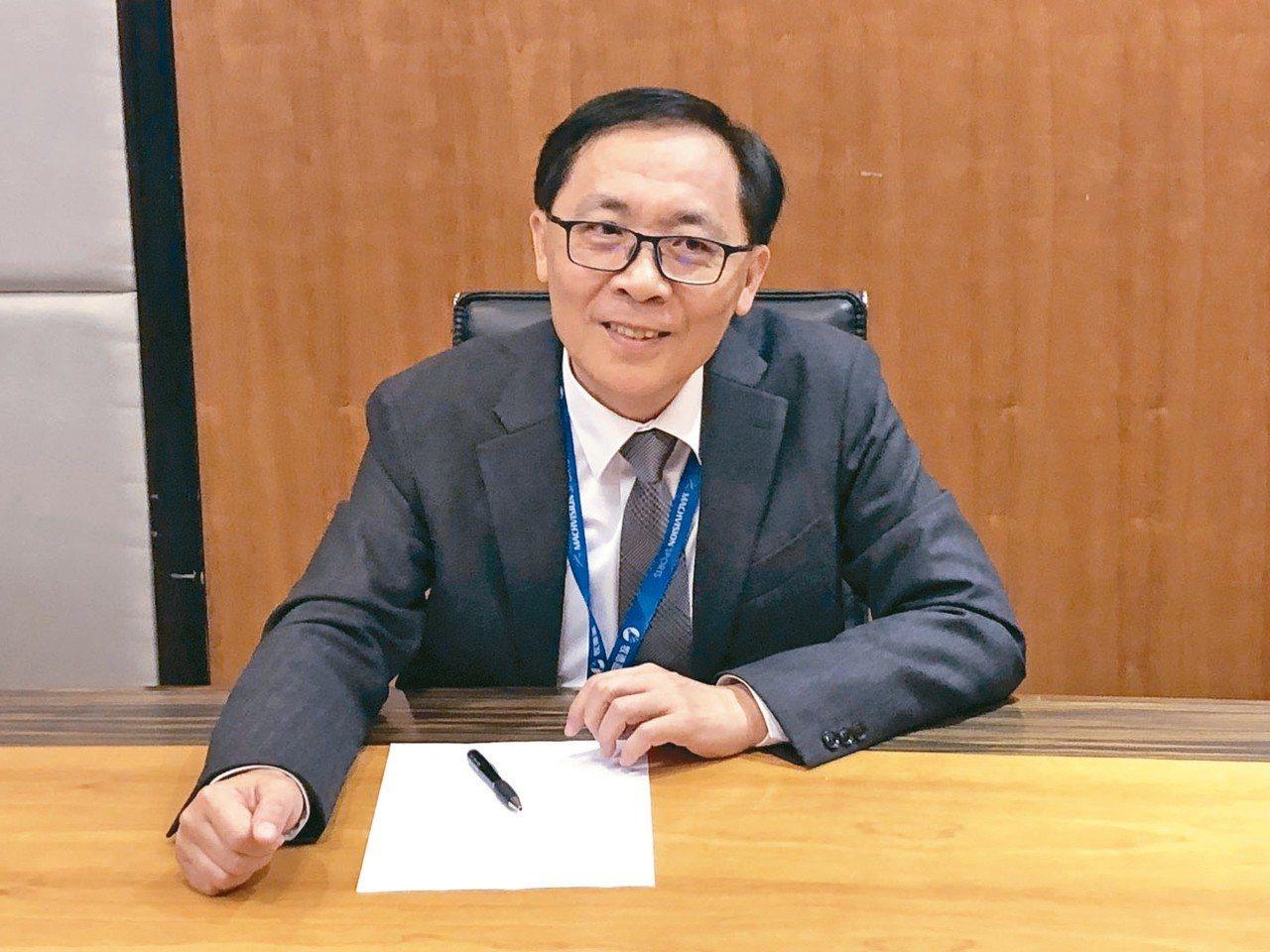 牧德董事長汪光夏。 記者吳凱中/攝影