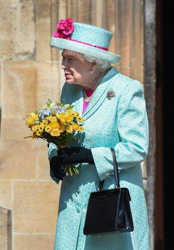 英國女王伊麗莎白二世今天度過93歲生日。 路透