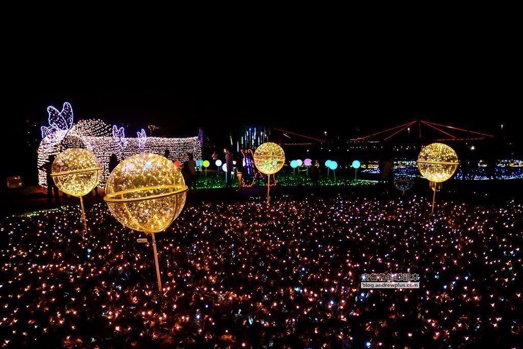 圖/透明燈球拍照起來很是夢幻。網友安魯魯與陽光姐授權