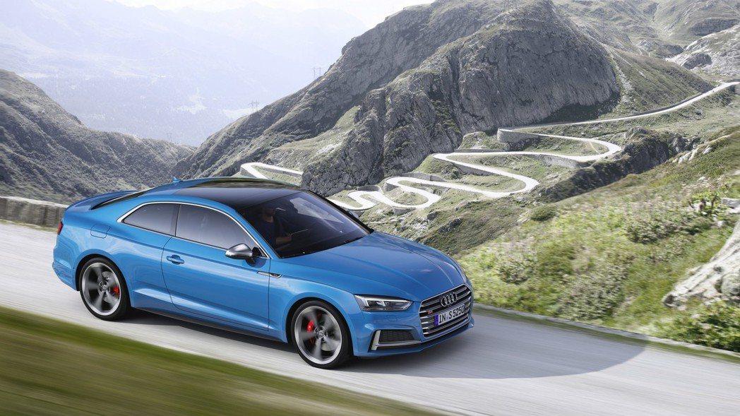 Audi S5 Coupe TDI。 摘自Audi