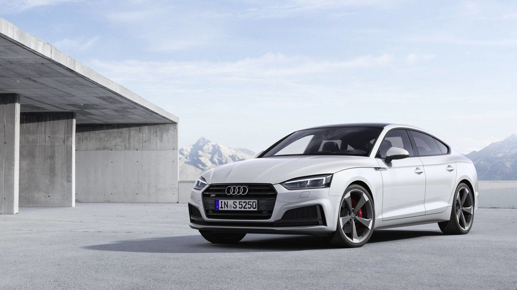Audi S5 Sportback TDI。 摘自Audi