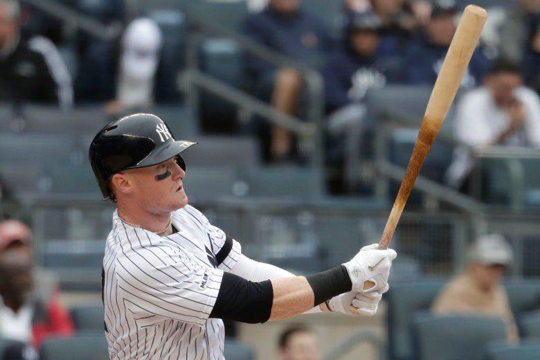 洋基外野手弗瑞茲爾竟然成為隊中表現最好的打者,他去年在洋基只出賽15場,34個打...