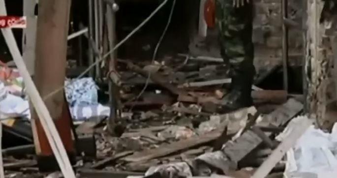斯里蘭卡發生數起連環爆炸案,造成至少156人喪生。(Photo by 網路截圖)