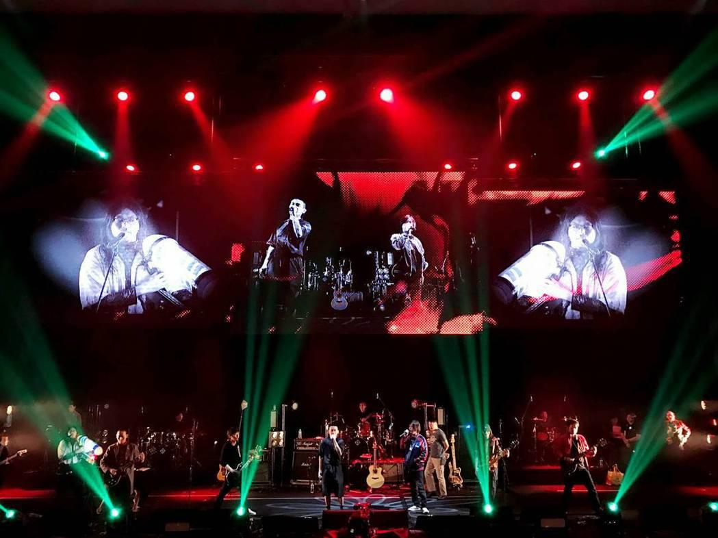 董事長樂團、美秀集團、滅火器首度合作開唱。圖/寬宏藝術提供