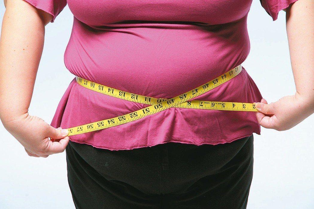 在更年期女性最常見的,就是所謂的中央肥胖。本報資料照片