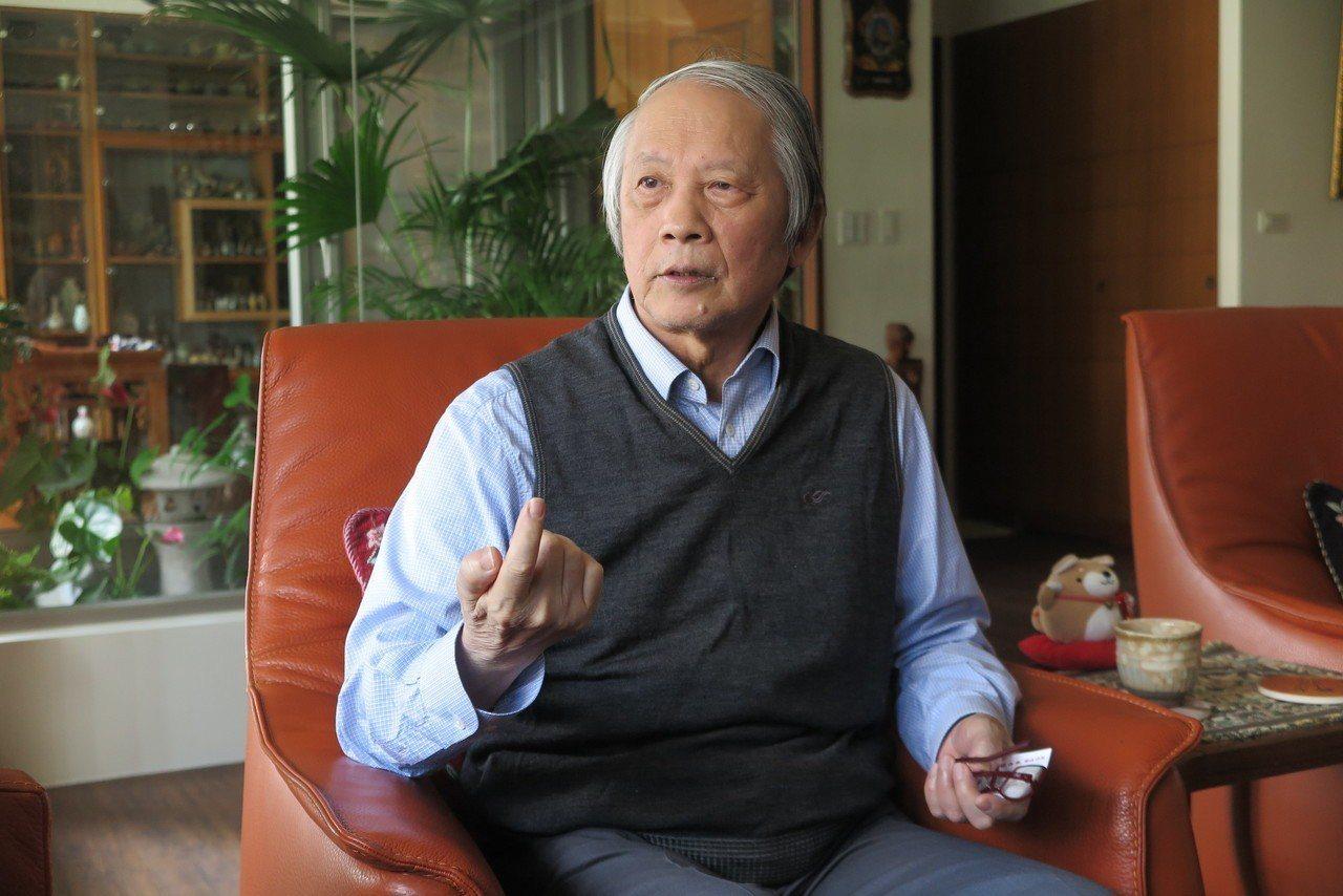 前司法院長賴浩敏說,「現在還不適合廢死」。記者林孟潔/攝影