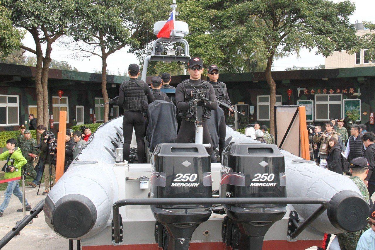 航特部兩棲偵察營1949年成軍以來,金、馬、澎3處外島駐地中僅澎湖駐地有簡易碼頭...