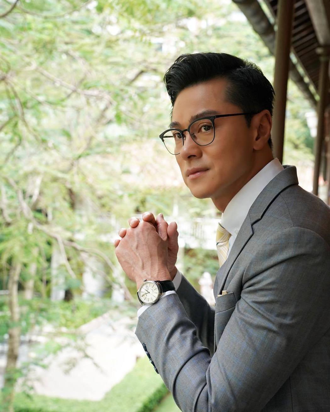 黃浩然是TVB的力捧小生之一。圖/摘自IG