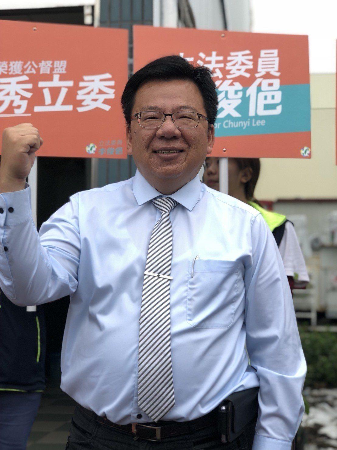 民進黨嘉義市立委李俊俋連任之路出現不少挑戰者。本報資料照片