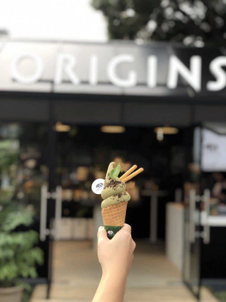小樹霜淇淋於華山快閃店限量販售。圖/金帛手製提供