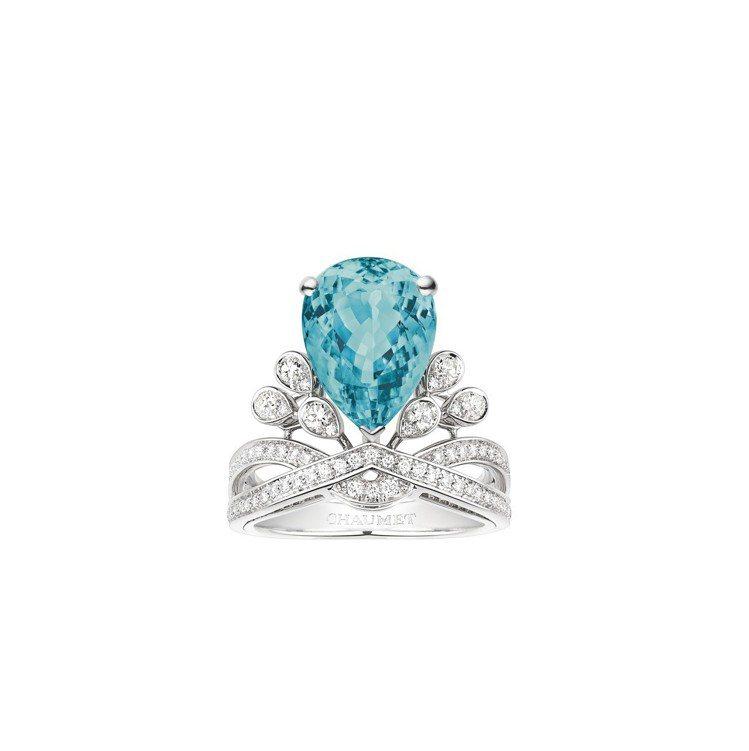Josephine Aigrette Impériale系列鉑金戒指,鑲嵌5.0...