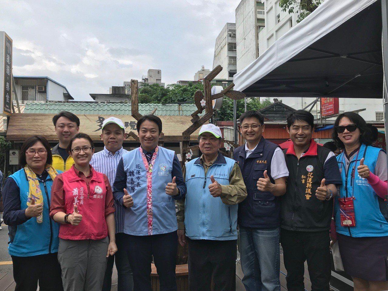 洄瀾桐花祭今日在花蓮市好客文化會館熱鬧登場。記者王思慧/攝影