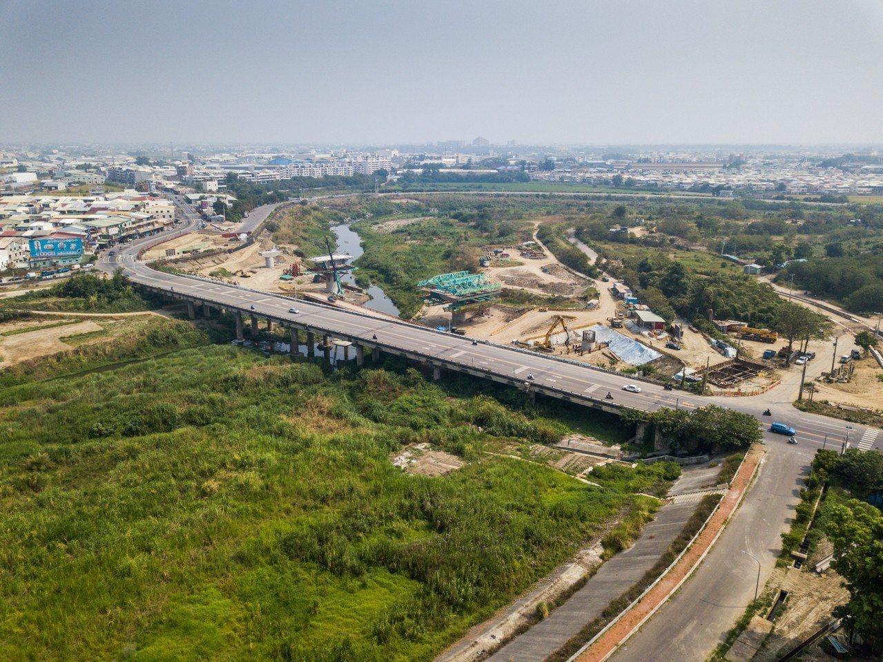 舊華興橋連接民雄鄉,是重要道路。照/工務處提供
