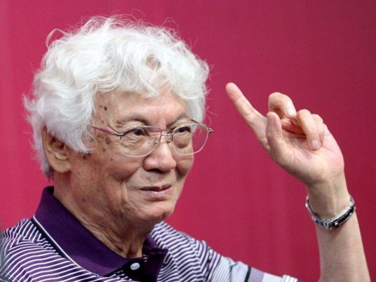 香港著名經濟學家張五常。圖/擷取自張五常微博