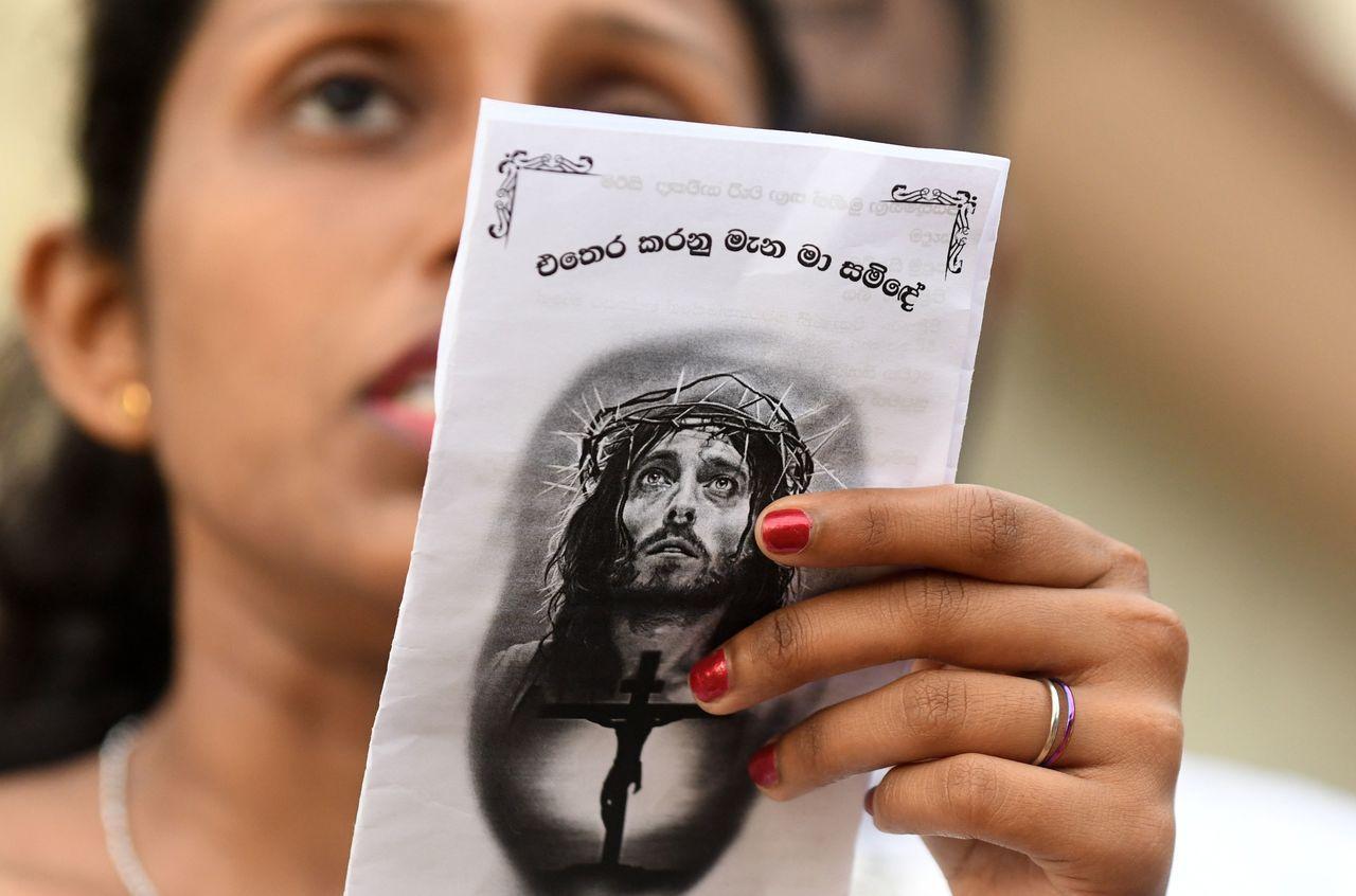 斯里蘭卡基督徒在全國人口占比僅為7%。法新社