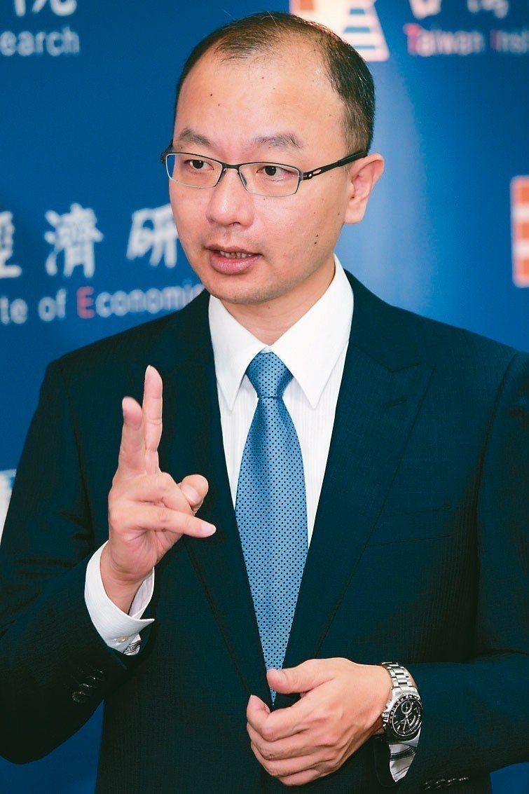 台灣經濟研究院景氣預測中心主任孫明德。 圖/聯合報系資料照片