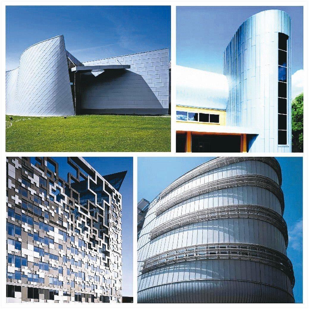 德國進口Novelis創造出許多獨特建築風格,可完美詮釋建築美感。 祥鑫鋼鐵/提...