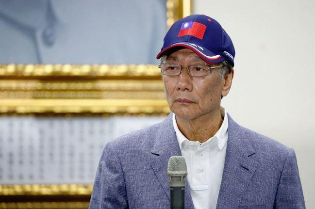 鴻海董事長郭台銘。 (路透)