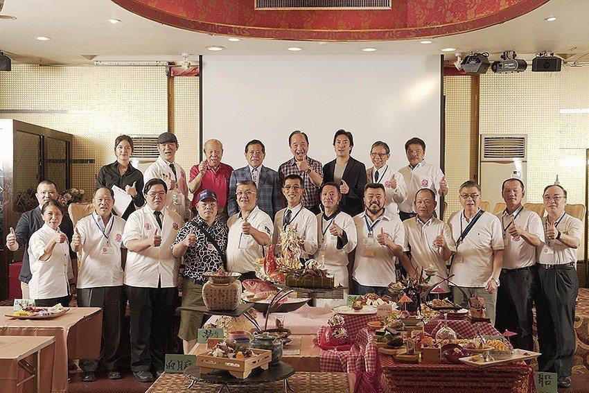 中華日式料理發展協會開辦「第一屆台灣和食料理金賞展」。 中華日式料理發展協會/提...