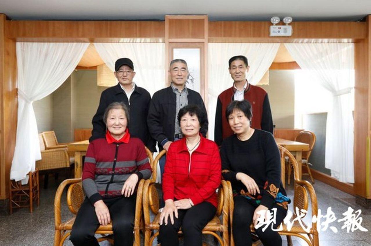 蘇州市一對兄妹失散57年,相聚後才知兩家只隔1公里。圖/擷自現代快報