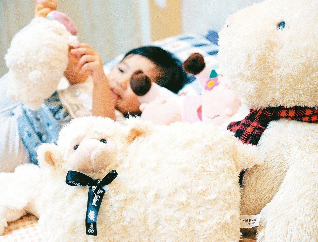 不少學齡前兒童有睡覺打呼現象,其中多為阻塞性睡眠呼吸中止症。 圖/聯合報系資料照...
