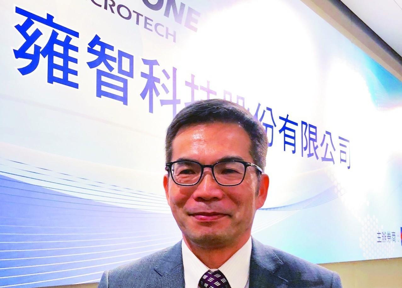 雍智科技董事長李職民。 圖/聯合報系資料照片