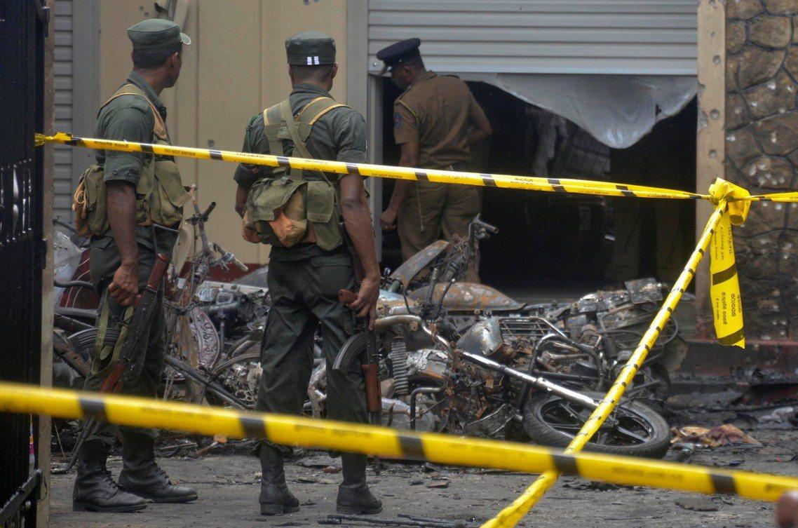 斯里蘭卡目前仍處於「高度封鎖」的緊張狀態。 圖/路透社