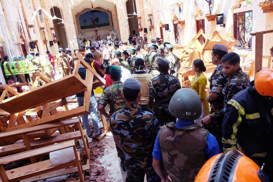 斯里蘭卡21日爆發的「復活節連環恐攻案」,於全國各地幾乎同步發生的8起炸彈事件,...