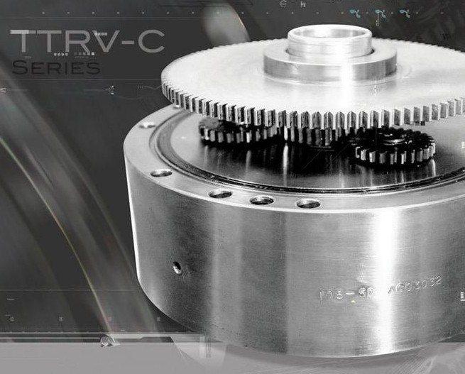 村田精密薄型RV滾柱減速機薄短且輕。 村田精密/提供