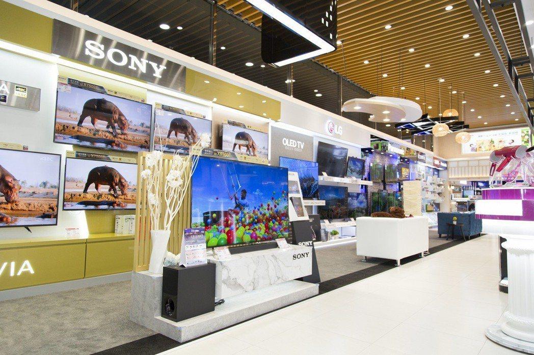 全國電子Digital City和平店將於4月26日隆重開幕。圖/全國電提供