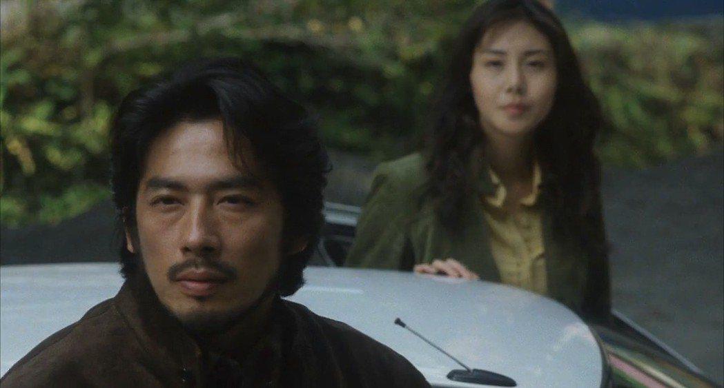 真田廣之與松嶋菜菜子曾為「七夜怪談」來台宣傳。圖/摘自imdb