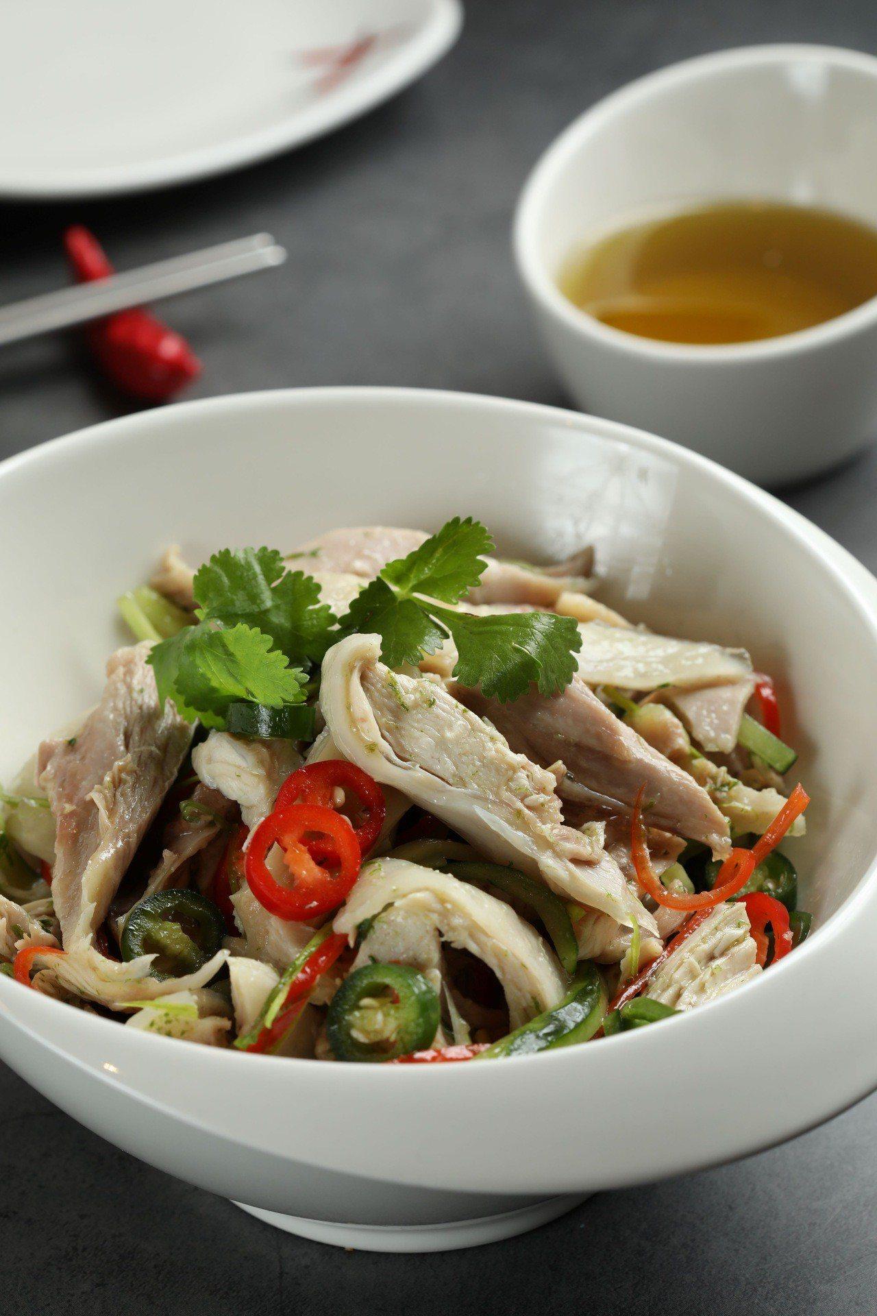 藤椒拌拌雞。 圖/開飯川食堂提供