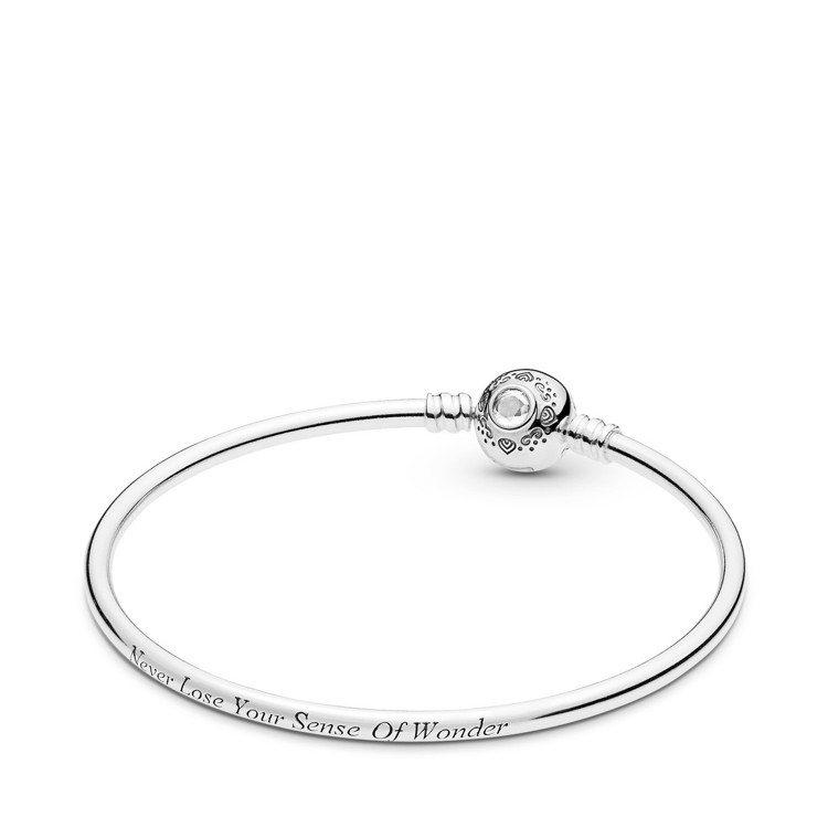 PANDORA阿拉丁與茉莉公主925銀手環、3,680元。圖/PANDORA提供