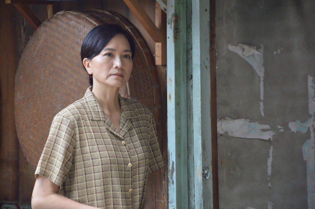 柯素雲在大愛「雨過天青」戲中飾演媽媽。圖/大愛台提供