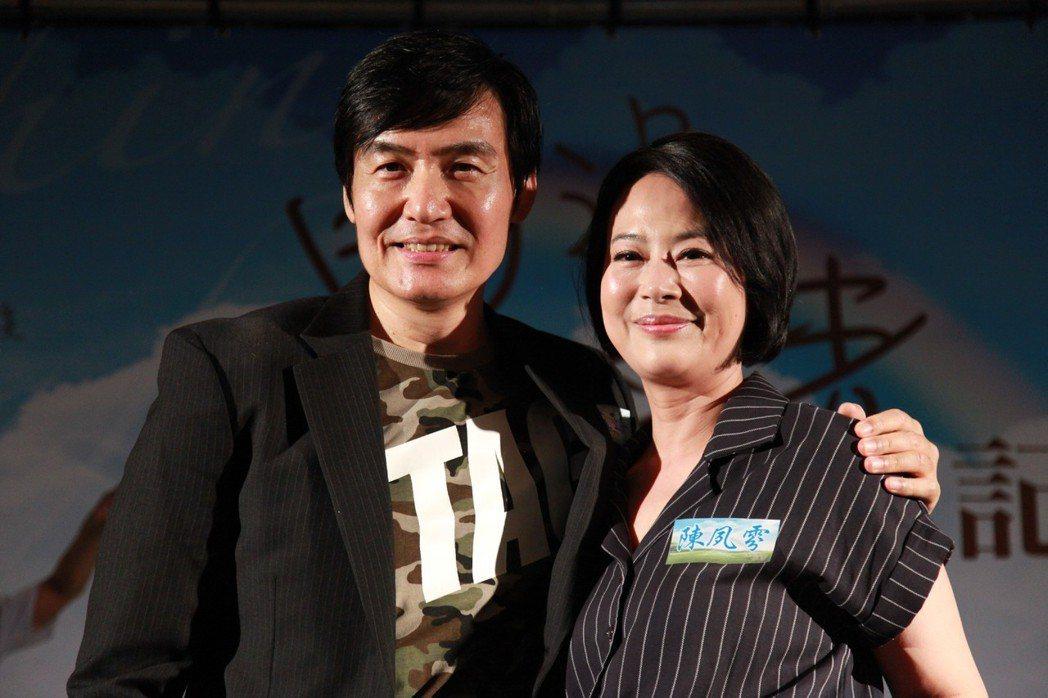 霍正奇(左)、陳夙雰飾演本尊林鳳朝的父母。圖/大愛題提供