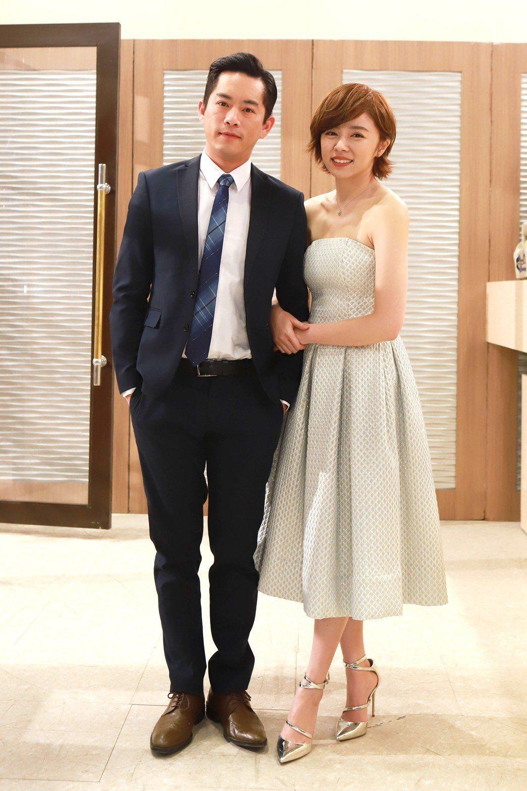王瞳、Junior韓宜邦在戲中看似有舊情復燃跡象,讓網友很緊張。圖/民視提供