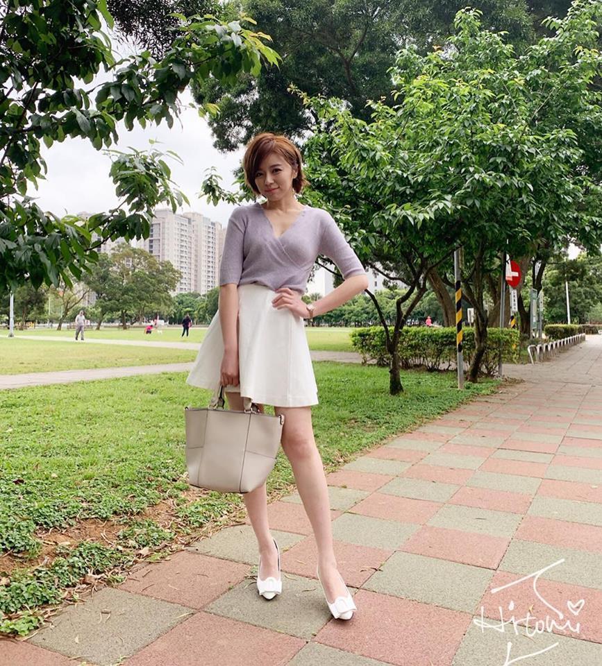 王瞳在「大時代」戲中飾演伍家媚。圖/摘自臉書