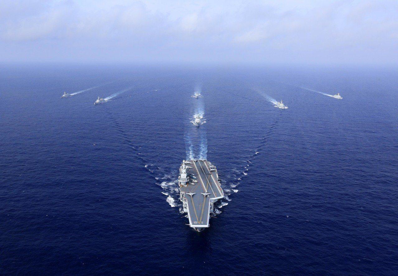 4月23日是中共海軍建軍70周年,中共將舉行一系列的海軍活動。 (中新社)