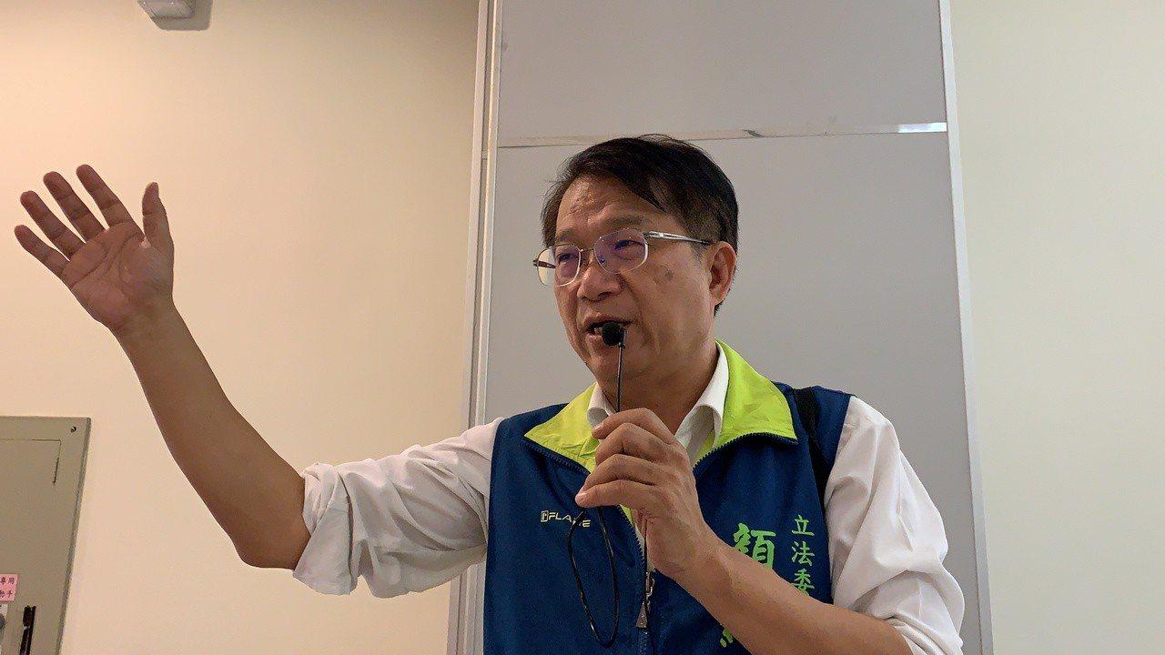 台南市前副市長顏純左。聯合報系資料照/記者吳淑玲攝影
