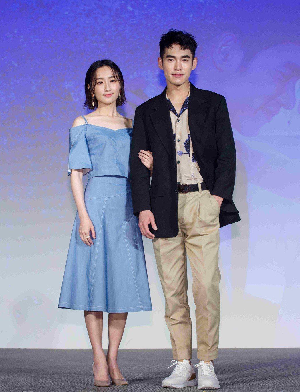 柯佳嬿(左)、張書豪在「如果愛,重來」中面臨婚姻經營問題。圖/歐銻銻娛樂提供