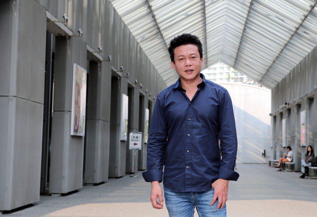 電影「你的臉」主角李康生。記者林俊良/攝影