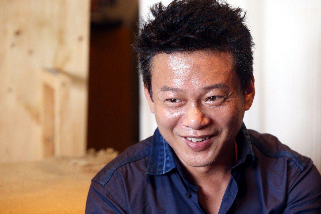 電影「你的臉」主角李康生 。記者林俊良/攝影