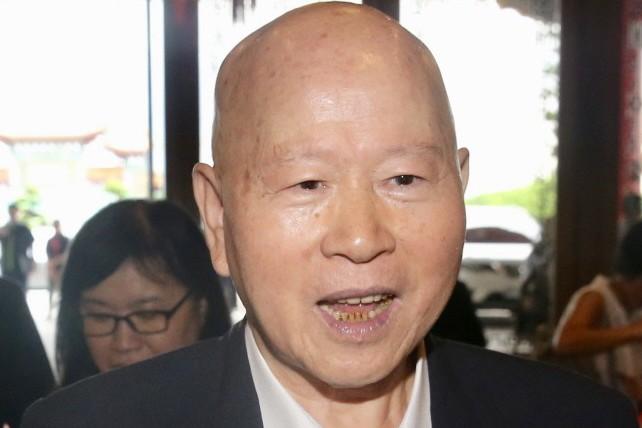 民進黨前主席許信良。 聯合報系資料照片/記者林伯東攝影