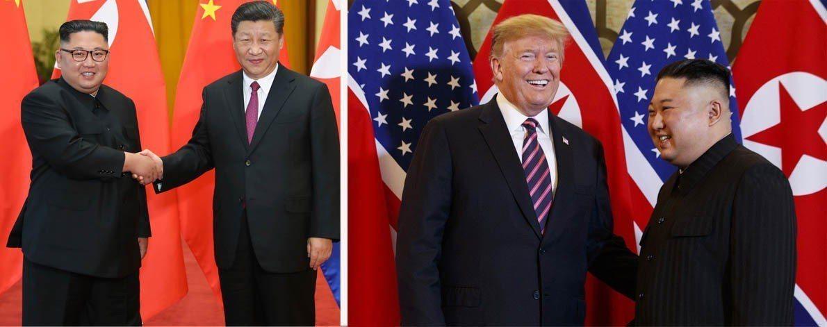 北韓領導人金正恩和大陸國家主席習近平已4度會面,也和美國總統川普開了2次峰會。 ...