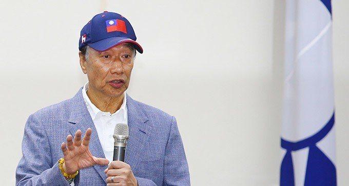 鴻海董事長郭台銘。記者陳柏亨/攝影