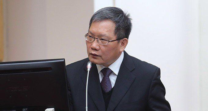 財政部長蘇建榮。中央社