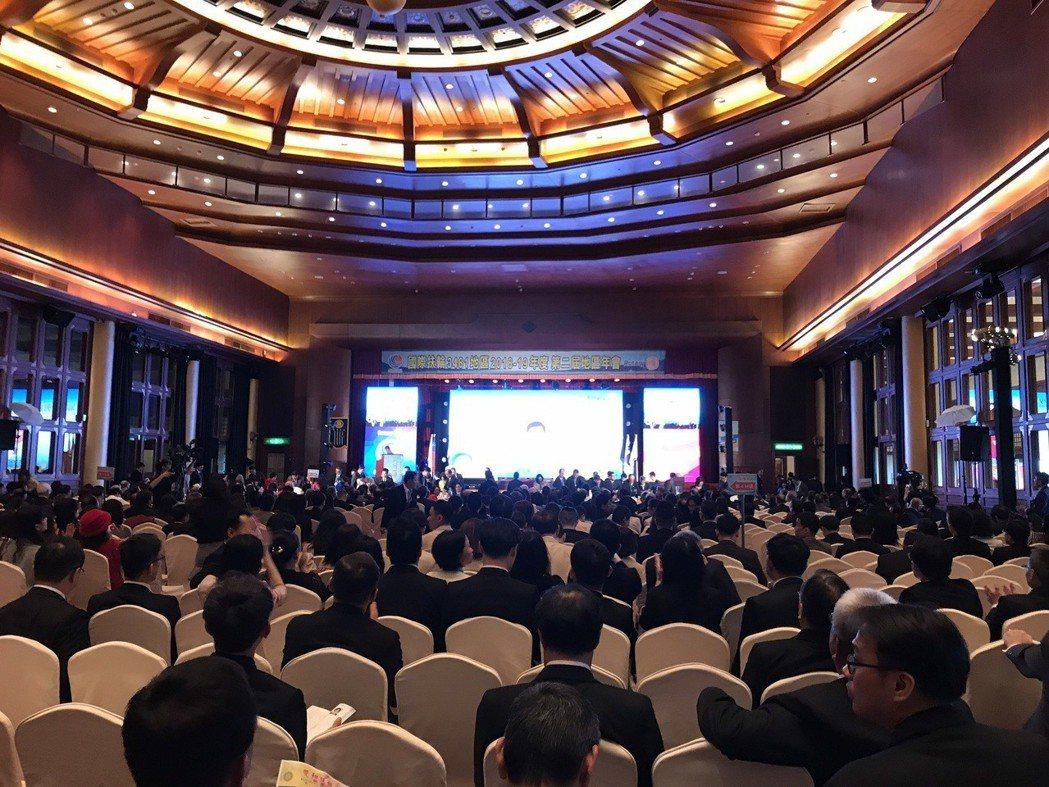 國際扶輪3481地區年會在臺北圓山飯店舉辦盛況。項家麟/攝影